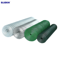 High Quality Galvanized/Pvc coated Fencing Net Iron Wire Mesh