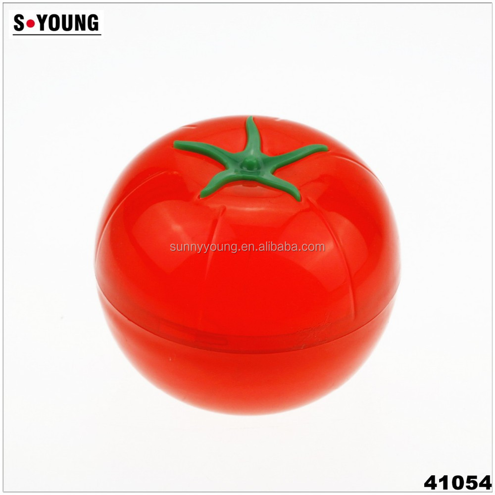 41054 Tomato Shaped Plastic Saverstorage Boxstorage Container With