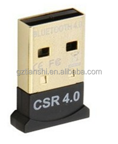Best IC CSR mini bluetooth a2dp usb adapter V4.0/USB Dougle