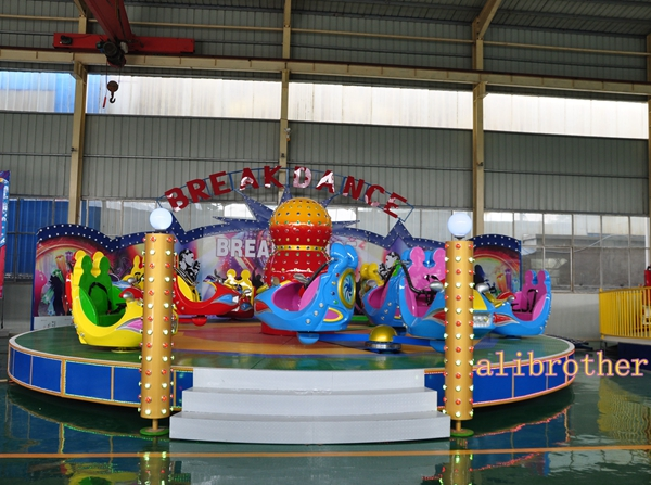 Playground de diversões para adultos Party Games girando break dance ride