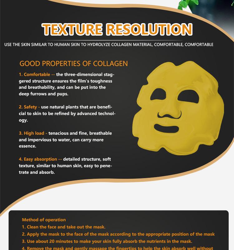 24 K or Q10 hydratant masque facial