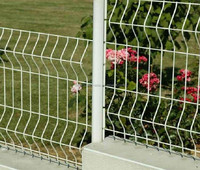 Fence for garden, park, meadow or a pasture, decorative garden fence