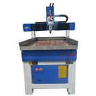 For Building Material Shops Machine With Dust Collector 6090 Wood / MDF Working Cnc Engraving Router Machine With Dust Collector