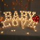 3D Electronic Marquee Signs Mini Decorative Led Alphabet Letters Signs for Wall