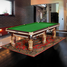Best price of low price 6 legs billiard table made in China