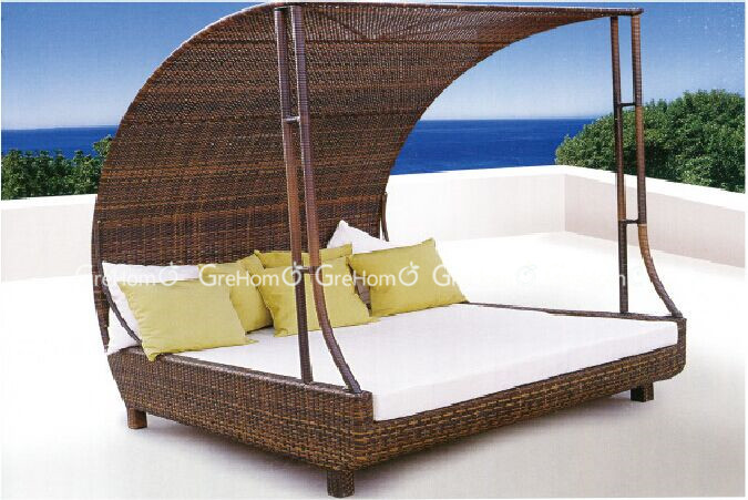 Patio Furniture Rattan Bali Canopy Bed Outdoor Buy Bali