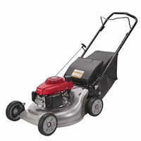 21'' 3-in-1 Self Push Gas Lawn Mower with Twin Blade
