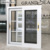 Aluminum framed double glazed 3 track sliding window with mosquito