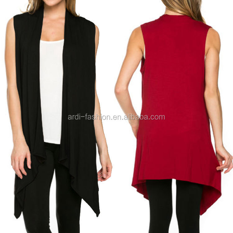 cheap top best-selling western European US womens long sleeveless cardigan