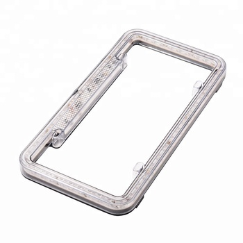 12v Acrylic Plastic Led Illuminated License Plate Frame - Buy ...
