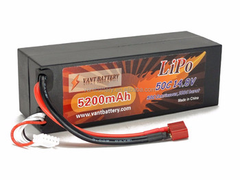 OEM RC LiPo battery Pack 14.8V 5200MAH 50C 4S