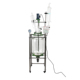 2019 hot sell 50 liters chemical extraction jacketed glass reactor prices