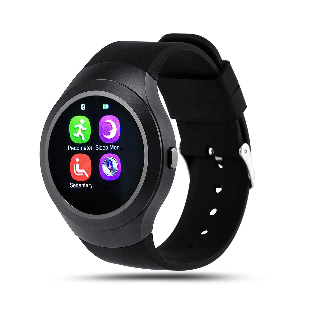 L6 Bluetooth 4.0 Smartwatch Support SIM Card Wristwatch for Android IOS Smartphone Handsfree Speaker Fitness Tracker Smart Watch