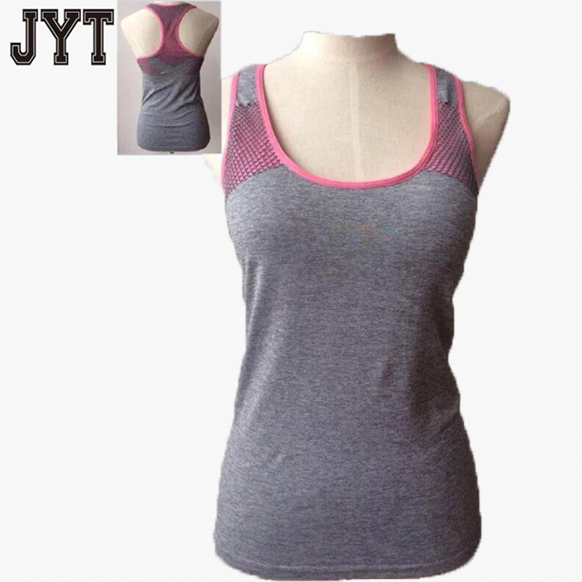 2016 High Quality Yoga T Shirt Women Design, Compression Fitness Sports Tops Shirt