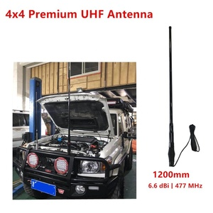 4x4 Premium Antenna 6.6 dbi -1200 mm 477 MHz with Heavy duty Spring UHF CB Radome Antenna