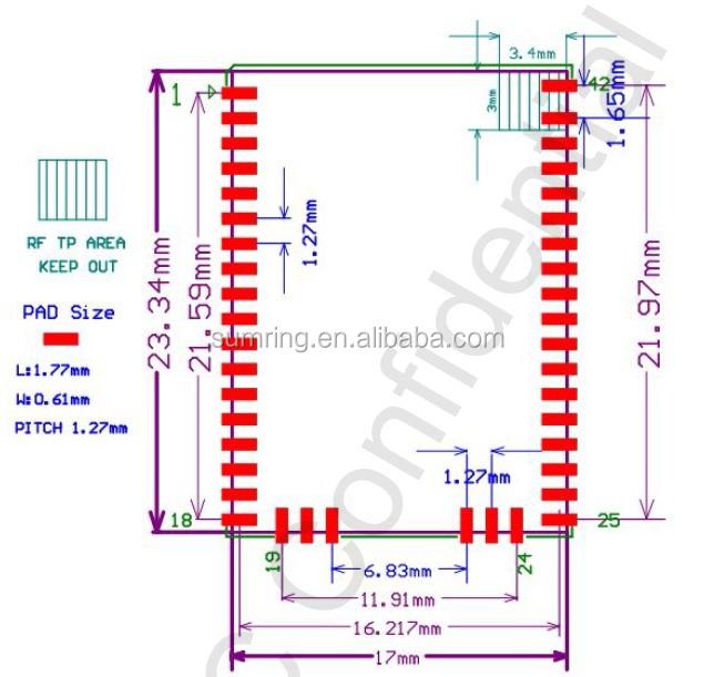Bluetooth Module Issc Is1621s-393