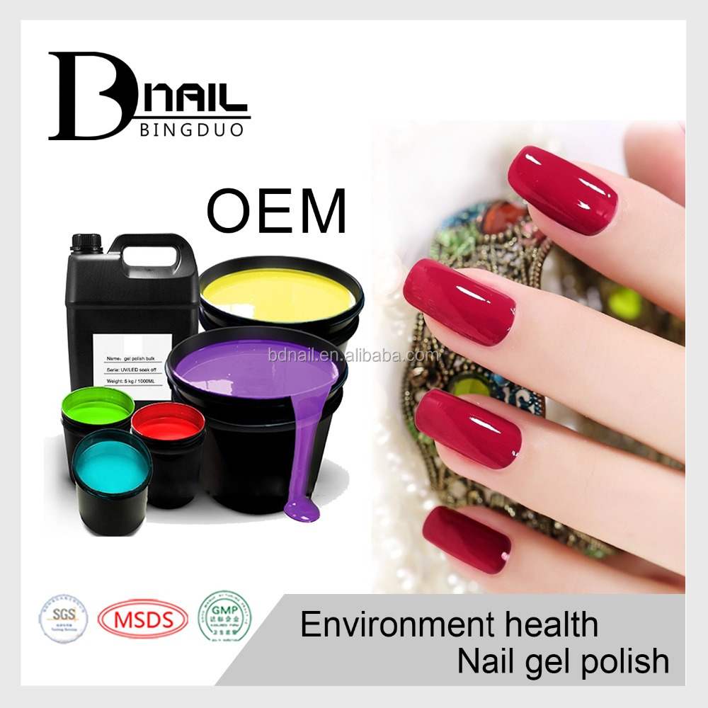 2017 Professional Salon Use Color Gel three step gel Nail Polish for nails art