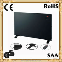 white glass space heaters CE GS 2kw electric heater