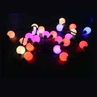 Hot selling holiday ip65 color christmas led decoration dmx ball light outdoor