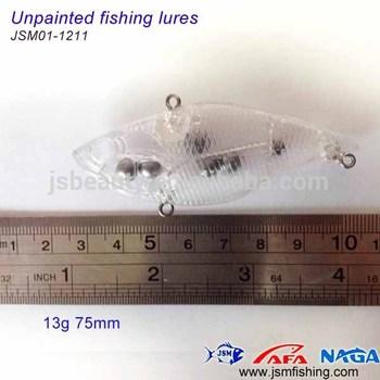 Wholesale Popular Hard Plastic Unpainted Fishing Lure Blanks Minnow Lure  Fishing Tackle Supplier - Buy Fishing Lure Blanks,Unpainted Lures,Fishing