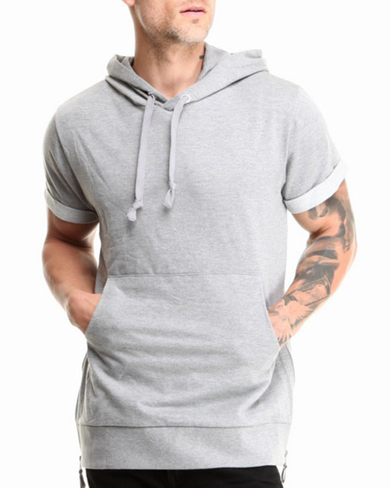 Collection Short Sleeve Hoodie Shirt Pictures - Reikian