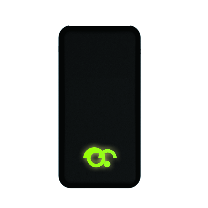 2019 Fantasy Power Bank Make Your Own Brand 빛 업 Logo 치 Wireless Power Bank 10000 미리암페르하우어 와 Led Logo