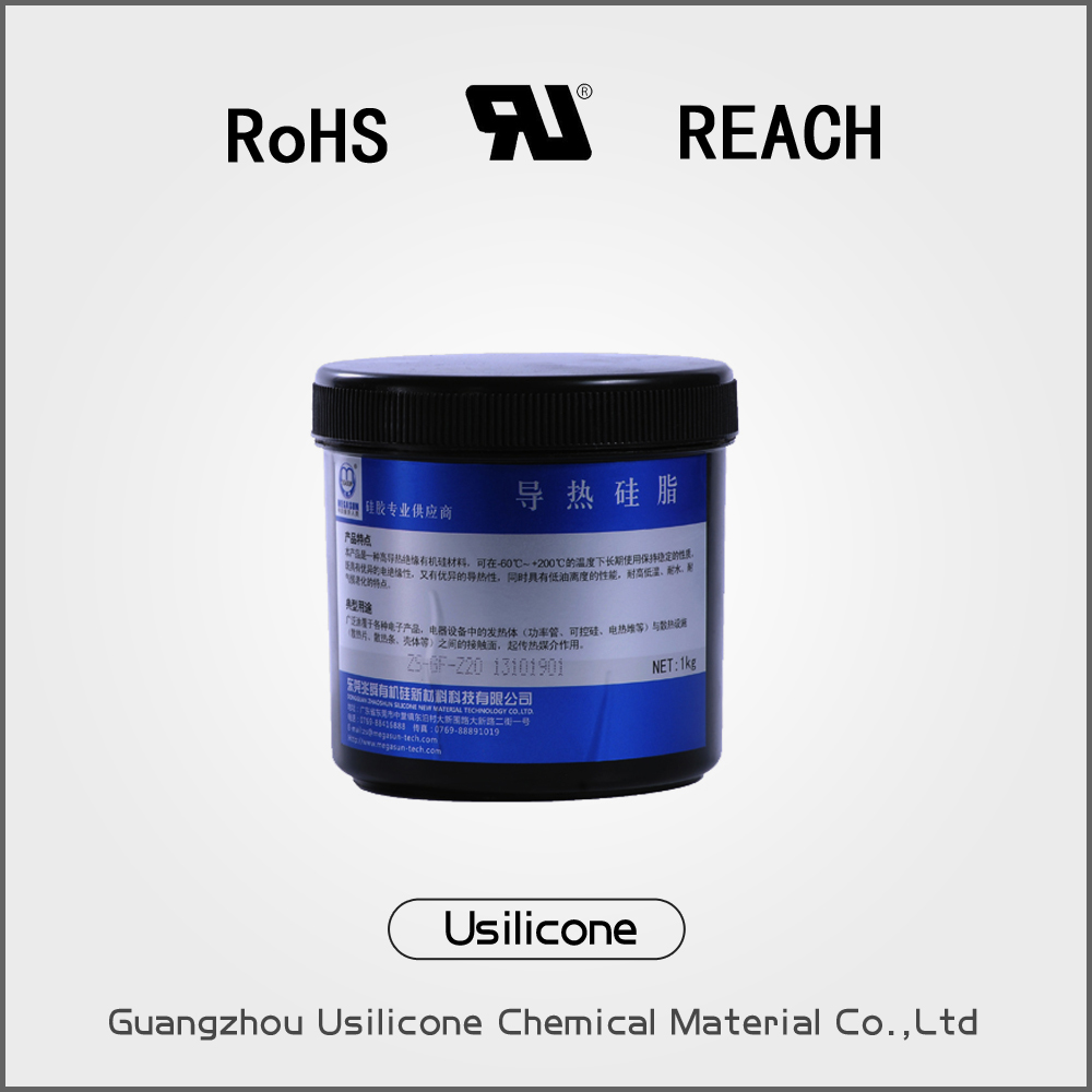 Z10 thermal conductive silica insulation silicone resin Flowable grease for printer