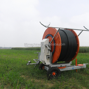 Move easily Hose Reel farm Irrigation Equipment for sale