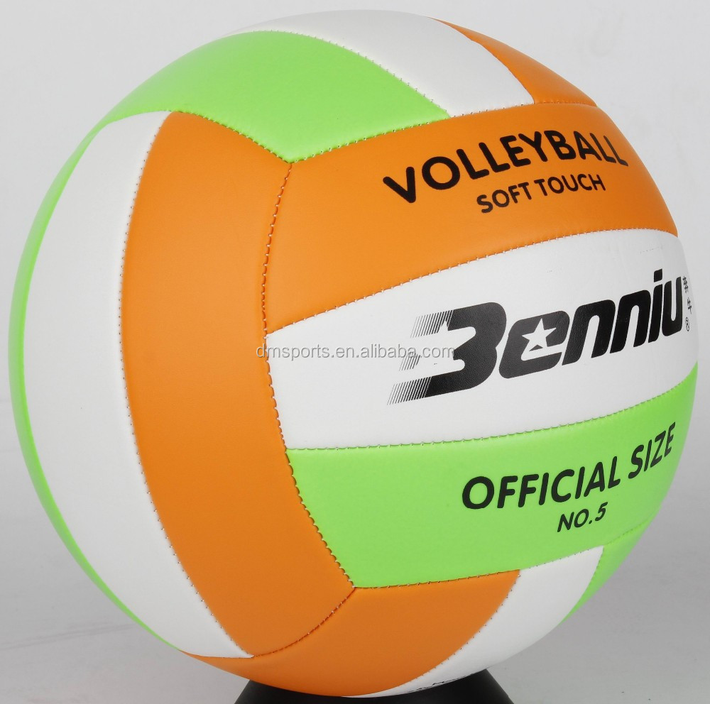 Machine Sewn Volleyball Size 5,Machine stich volleyball,soft touch volleyball 5#
