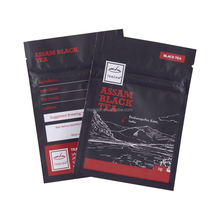 Three side heat seal flat mini packaging ziplock bags