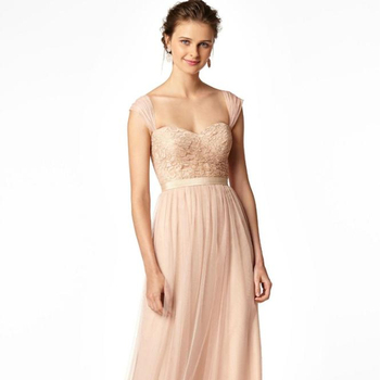 21209931de 2019 Best Selling Bridesmaid Dresses Blush Sweetheart Tulle A Line Lace  Floor Length Bridesmaids Dress For Wedding With Sash Pri - Buy 2019 Best ...