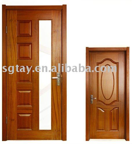 Pintura interior puertas de madera moldeado puertas - Pintura puertas madera ...