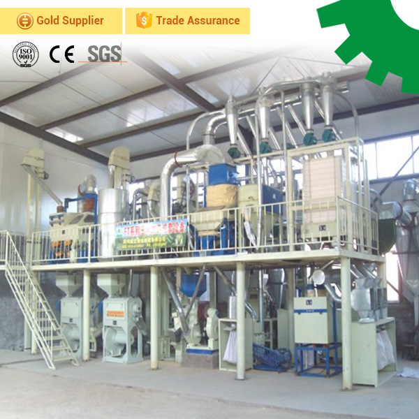 30 ton per day small automatic corn grits maize flour mill equipment start complete maize milling plant