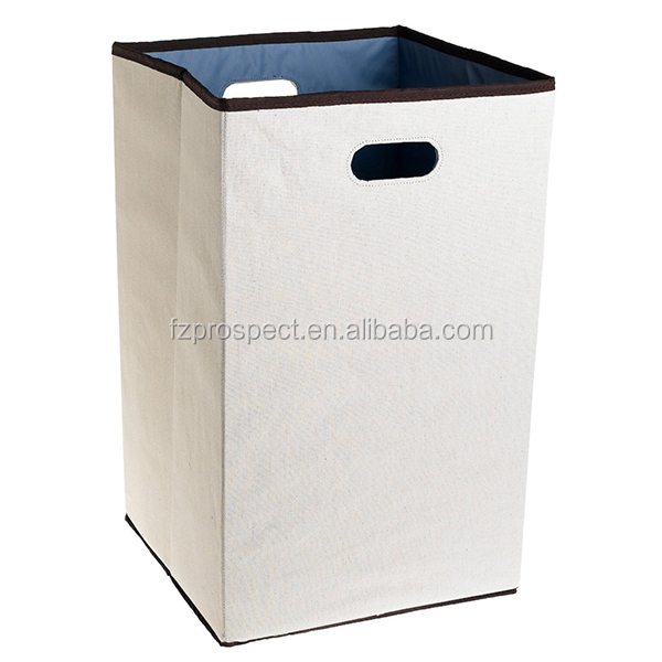 Wholesale large capacity foldable baby polyester corner laundry hamper