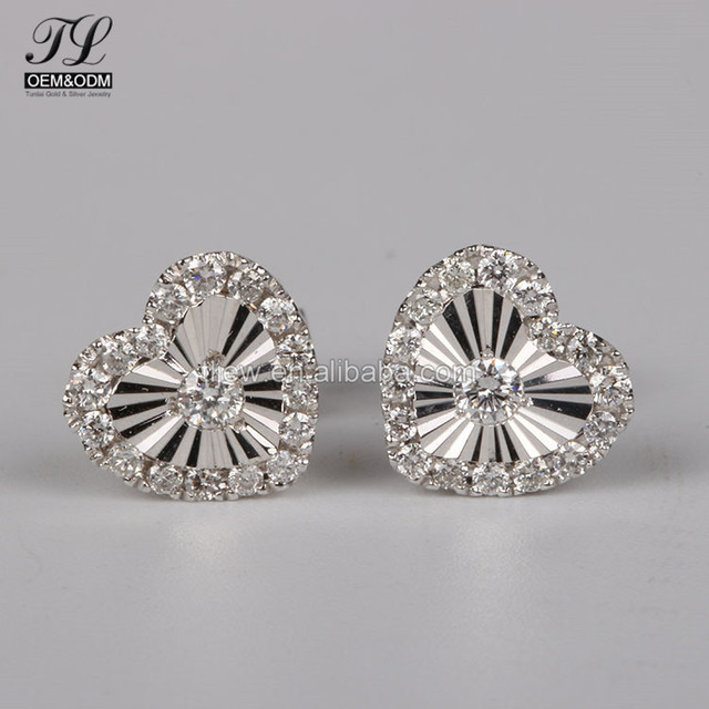 Customized Bling Fancy Plate Cut Large Costume Earrings Famous Brand Earring