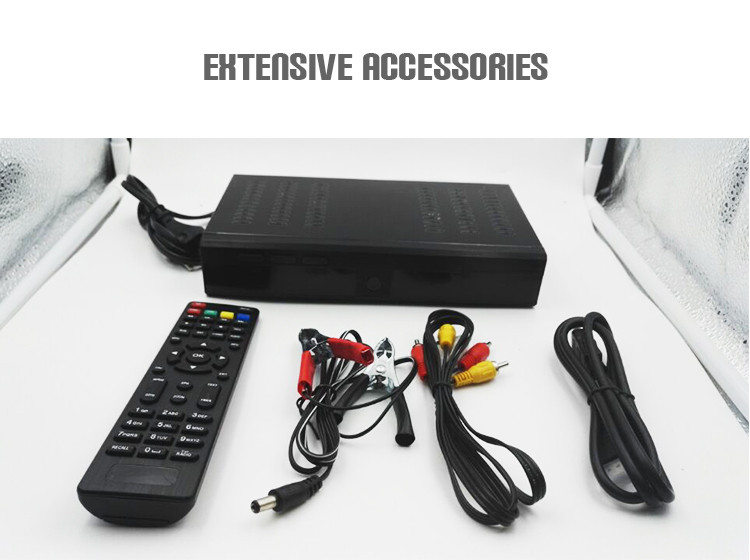 Set top box Suppliers JUNUO tv receiver with rf tuner