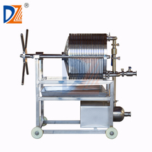 Stainless Steel Plate And Frame Filter Press Machine For Fine Filtration