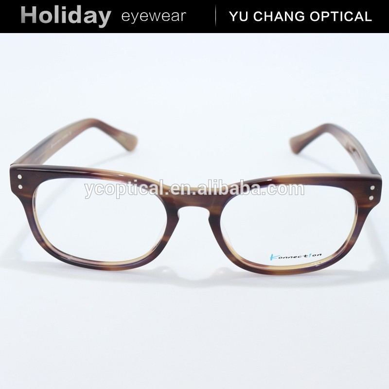 New model wholesale plastic full rim glass frame, latest fashion in eyeglasses without nose pads