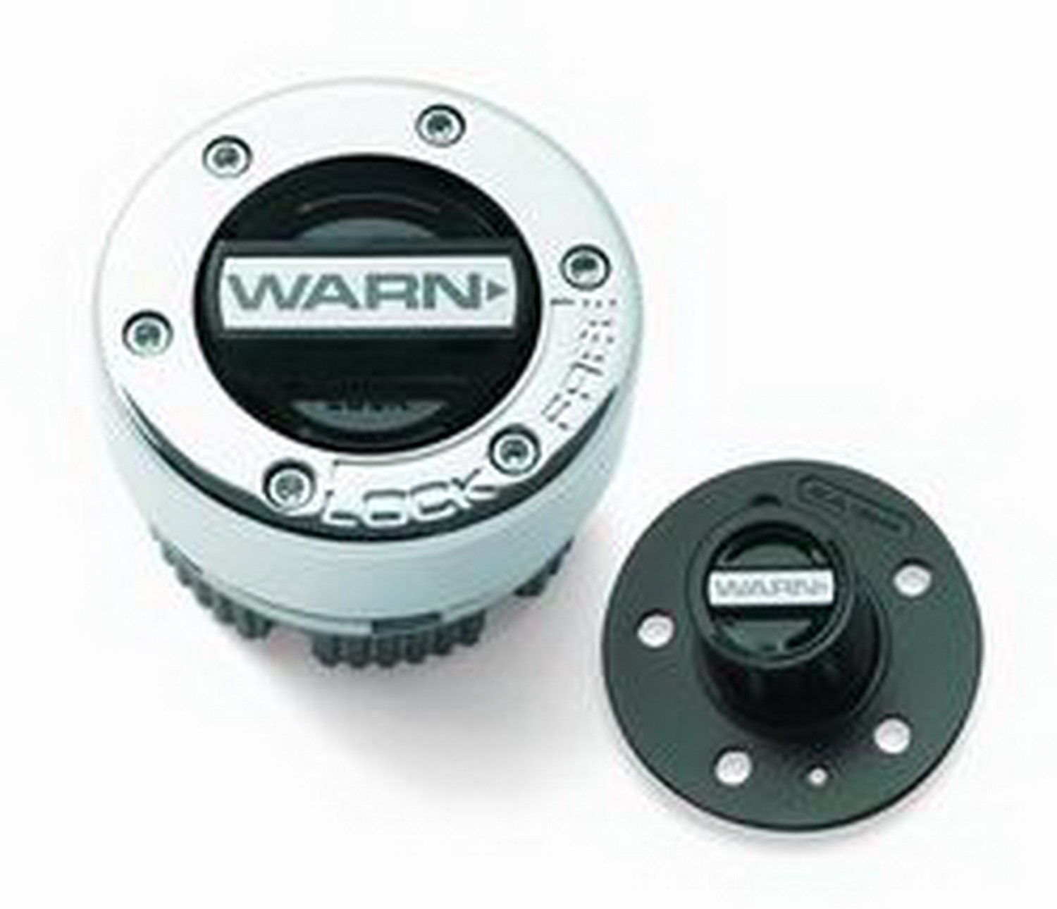 Warn 9790 Standard Manual Hub Kit Set Replacing Automatic 3 Hole Cap w/Manual