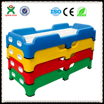 China Cheap Plastic Child Furniture Bed For Toys Toddler Beds