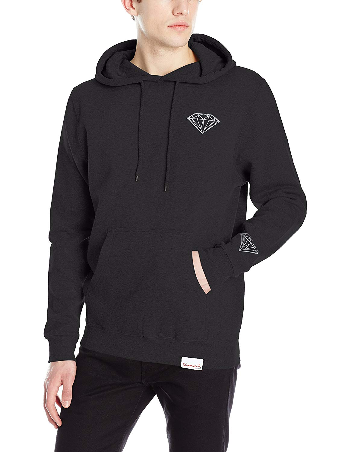 079a53aa2184 Get Quotations · Diamond Supply Co Men s Brilliant Pullover Hoodie