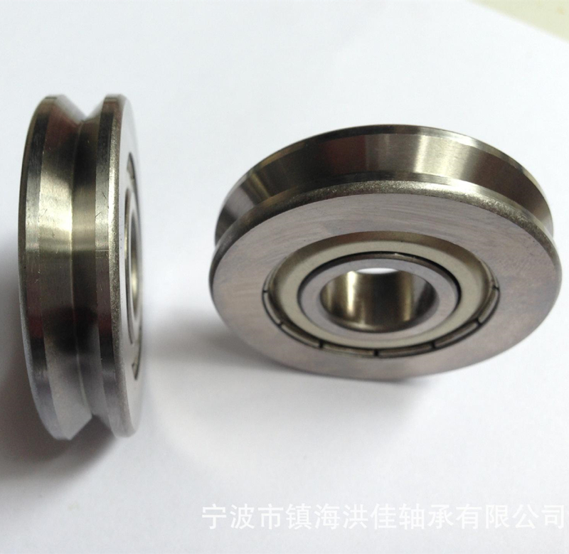 3 - 50 mm Outside Diameter and ABEC-1,3,5,7,9 Precision Rating V Groove Bearings