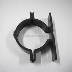 CNC customized aluminum bracket tube clamps