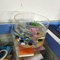Factory sale of Acrylic Round Fish Tank