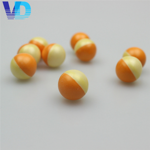Factory price biodegradable coloful 0.50 Paintballs for sale