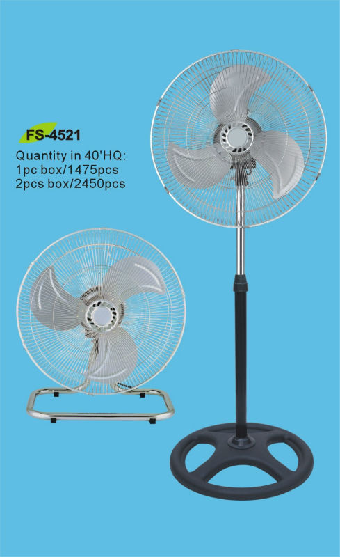 INDUSTRIAL FAN 2 IN 1