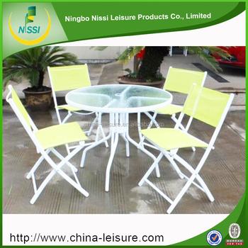 Lightweight Foldable Folding Sleeping Chair Steel Outdoor Furniture
