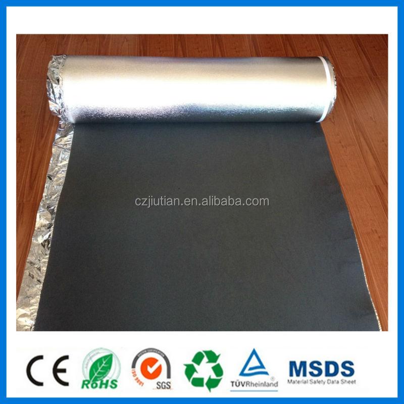 Ixpe Laminate Flooring Underlay Foam For Floor Heating - Buy Underlayment  Back Laminate Floor,Black Eva Foam Acoustic Flooring Underlay,Ixpe Foam