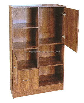 Modern Office Used Wooden Files Cabinet 3 Doors
