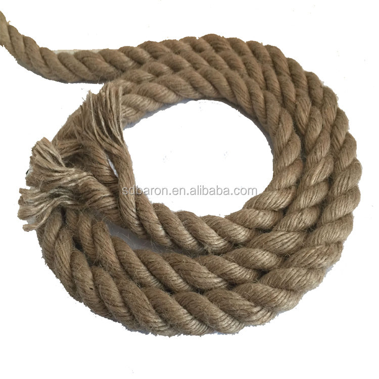 Hot-sale natural 100% Manila Hemp Jute Sisal Rope and cord